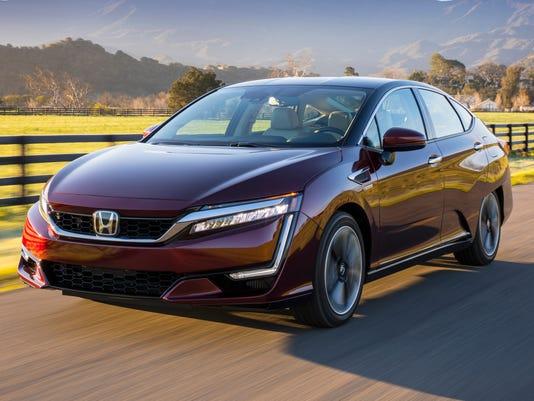 Review Honda Clarity Hydrogen Car Wont Go The Distance