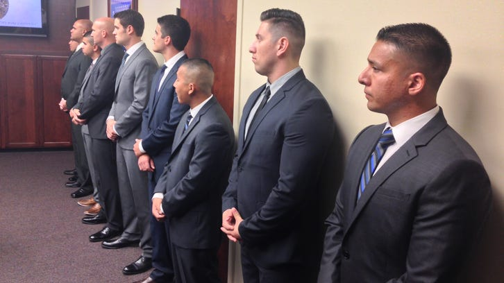 New Stockton police officers, Sept. 16, 2014