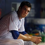 New York Mets starting pitcher Steven Matz reacts after being pulled from the game against the Chicago White Sox during the sixth inning at Citi Field Tuesday night.