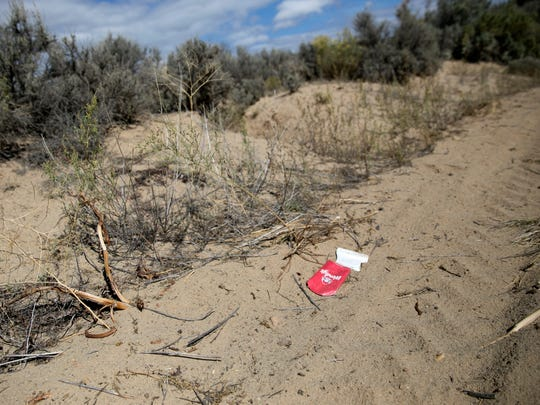 An annual cleanup effort at the Glade Run Recreation Area north of Farmington last year netted 63 cubic yards of trash, a spokesman for the local BLM field office says.