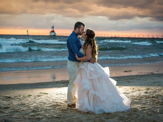 Janessa and Nick Zapor were married on Sept. 10, 2016