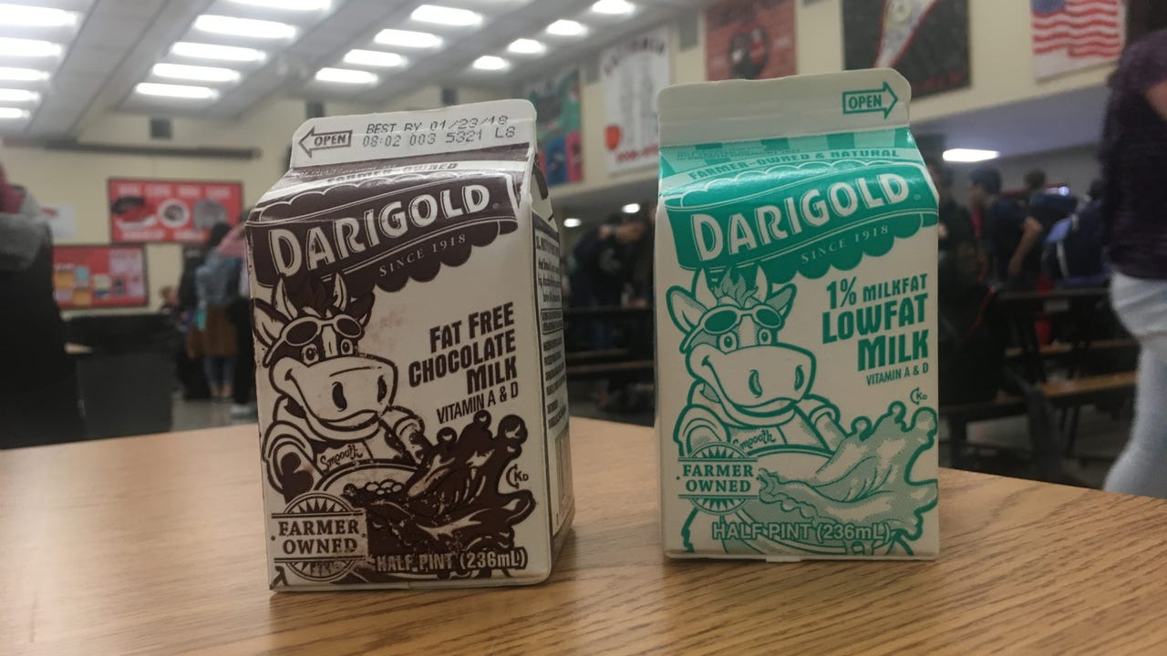 The Kitsap Public Health District in 2018 weighed in on the debate over chocolate milk in schools saying the nutritional benefits outweigh the health risks of added sugar. Students at Ridgetop Middle School talked about their drink of choice.