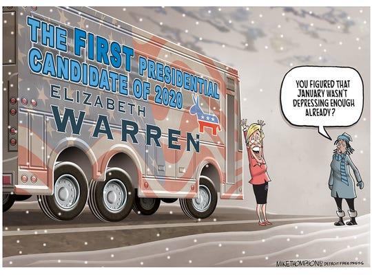 Elizabeth Warren is running for president