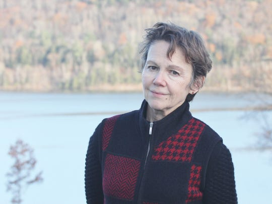 Glimmerglass Film Days curator Peggy Parsons at Otsego Lake.