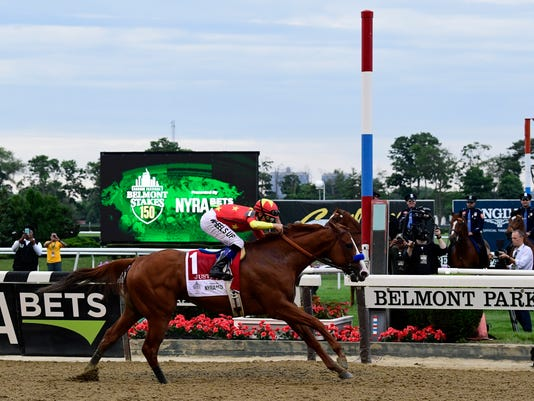 Horse Racing: 150th Belmont Stakes