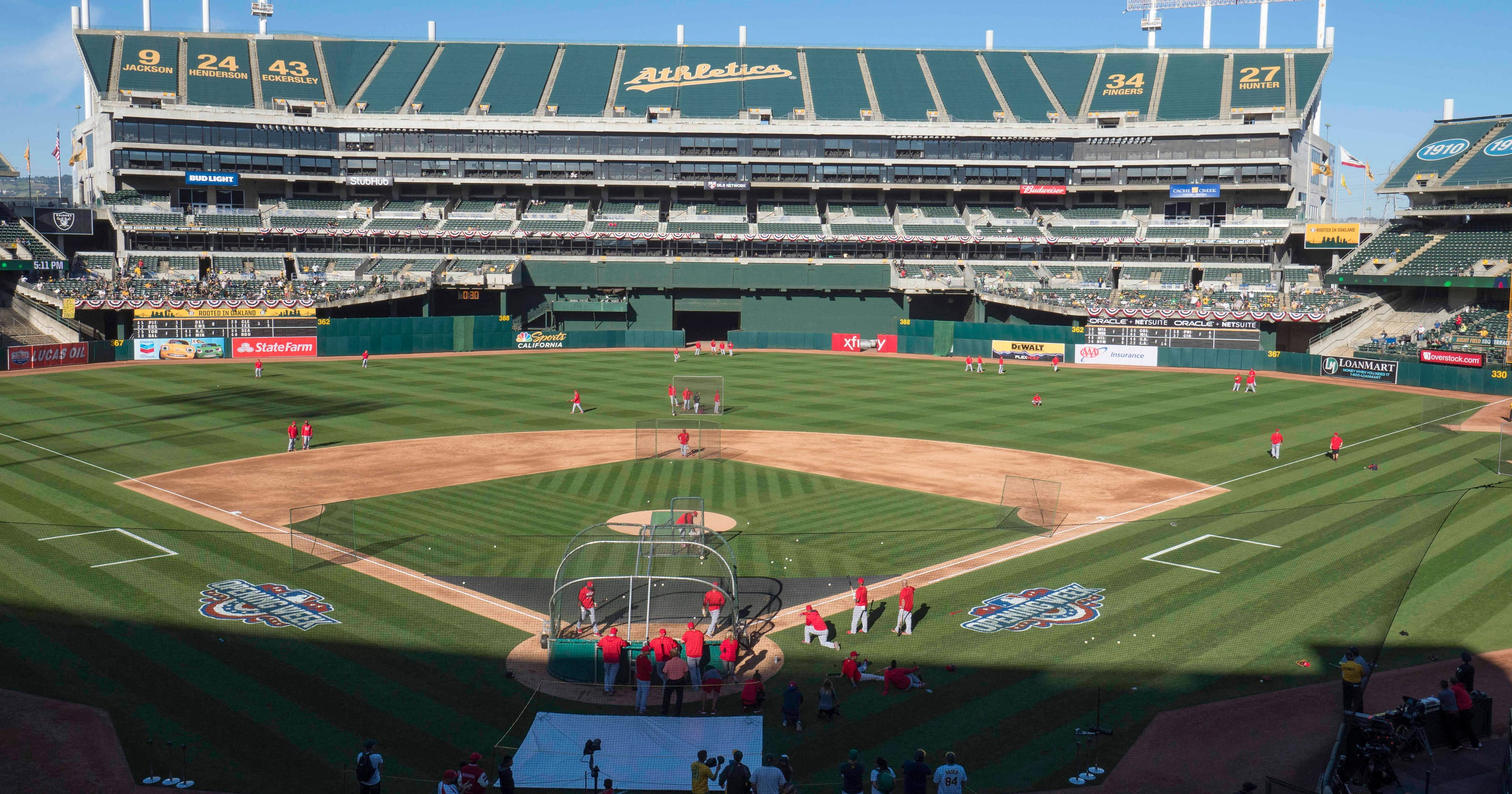cfe2b1a2d Free baseball  Oakland A s expect full house of 65