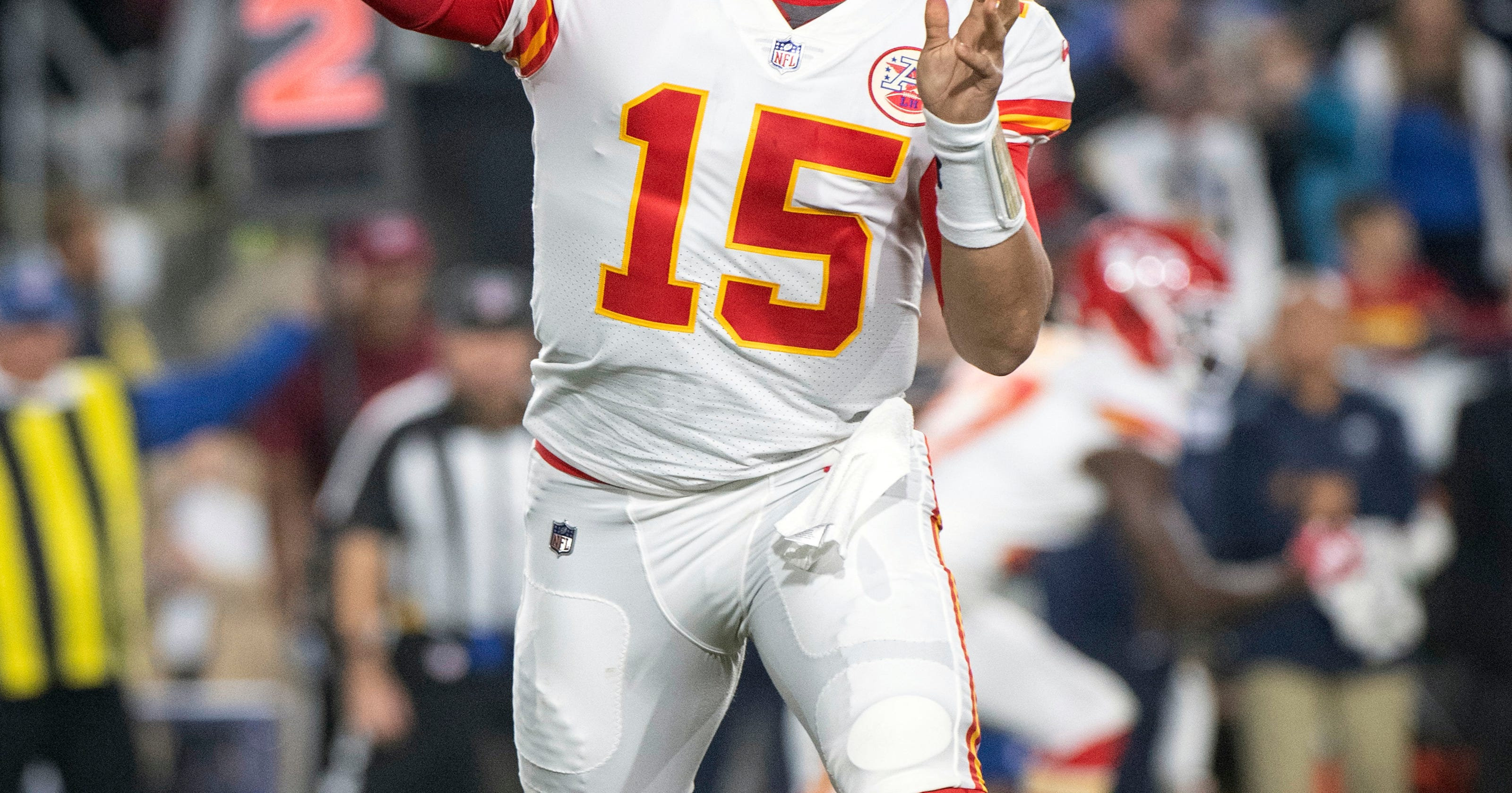 7109d8198 Chiefs  Mahomes learning from (rare) first-year mistakes