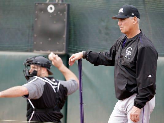 MLB: Colorado Rockies-Workouts