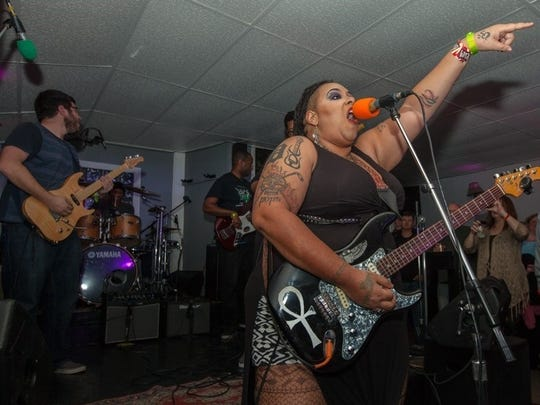 Deekah Wyatt and her band, Roxolydian, will perform at the Cosmic Slop Music Festival.