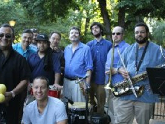 Salsa band Conjunto Alegre will be playing 7:30 to