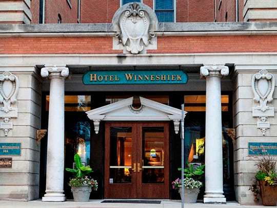 The Hotel Winneshiek, built in 1905, is within walking distance of local shops, restaurants, galleries, parks and the Vesterheim Museum in Decorah.