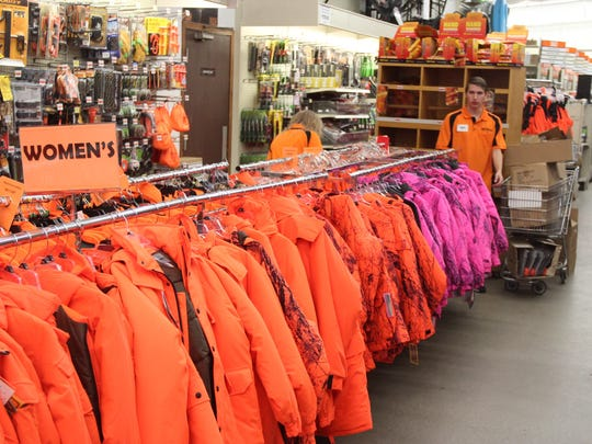 Deer hunters, make sure you have all your blaze orange gear before Saturday's firearms opener.
