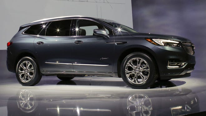 Buick Enclave and two other General Motors SUVs tied for the title of most American car in a new study