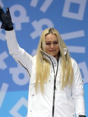 Feb. 21: Lindsey Vonn won bronze in the women's downhill, completing her comeback  after missing out on the 2014 Games due to injury.