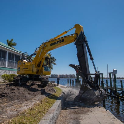 As hurricane season approaches, backlogs are still deep for marine contractors fixing sea walls