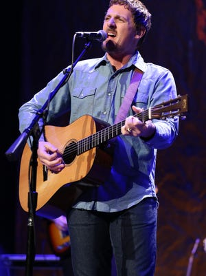Sturgill Simpson performs to a sold-out show at Ryman Auditorium on Friday, October 28, 2016.