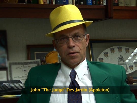 "John ""The Judge"" Des Jardins was one of Mitchell's interviews in Appleton."