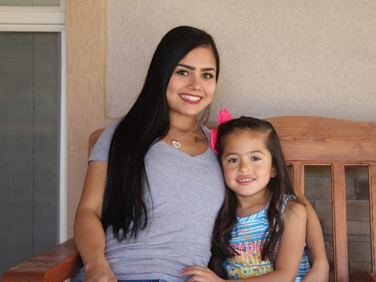 Geraldine Navarrette said she and her daughter Brook'Lynn