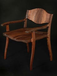 """Bobbi's Chair"" by Michael Doerr, part of the ""Form"