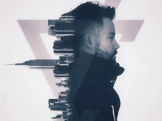 "The cover for David Cook's new single, ""Gimme Heartbreak."""