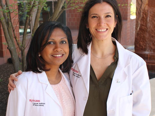 Heartbeats: Rutgers Cancer Institute of New Jersey nurses and advanced practice providers honored PHOTO CAPTION