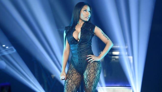 Nicki Minaj performs onstage at Barclays Center in Brooklyn.