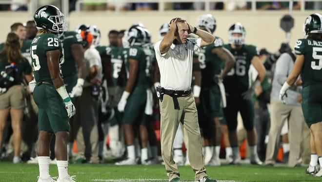 Mark Dantonio's Michigan State football team is a 10-point underdog as the Spartans go for their eighth win in 10 years against the Wolverines.