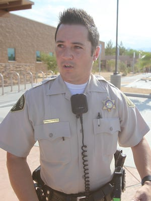 Deputy Mark Franks was fired for negligence from the Riverside County Sheriff's Department.  (Richard Lui The Desert Sun)