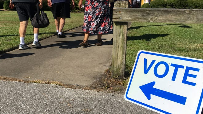 Residents turn out for 2017 municipal and special elections on Tuesday in Rockledge.