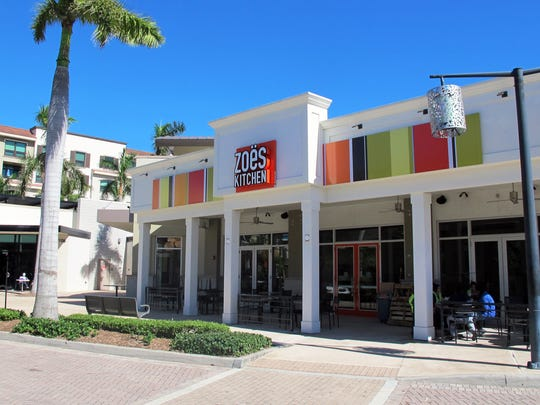Zoës Kitchen opens this week in the space vacated at the end of December by Taps Restaurant, Bar & Lounge at Mercato in North Naples.