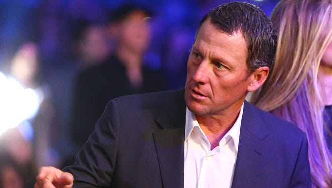 The federal government is suing Lance Armstrong on behalf of the U.S. Postal Service and is seeking nearly $100 million in damages.