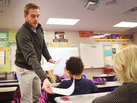 Lucas Bartolome teaches third grade Spanish Language
