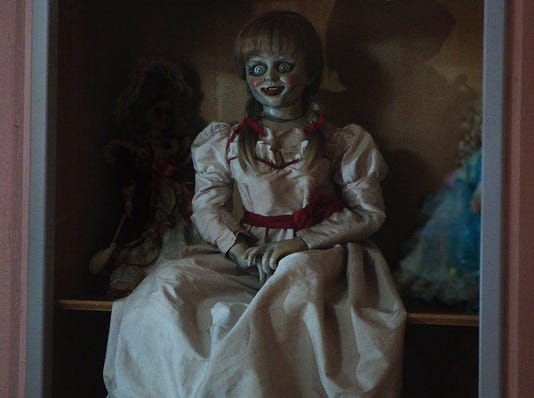 'Annabelle' merely toys with genuine horror