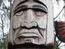 Overlooking Capilano Bridge is one of the largest private collections of totem poles. Or more accurately, story poles.