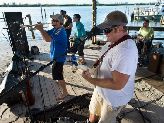 The final show for Stuart-based band Fresh Catch, pictured here at On The Edge Bar and Grill in Fort Pierce in 2014, is this weekend at the Port Salerno Seafood Festival.
