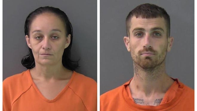"""Estrellita """"Star"""" Falcon, 37,  and Brandon Olivares, 28, are the second Killeen couple accused of having roles in the killings of Fort Hood soldiers in recent months."""