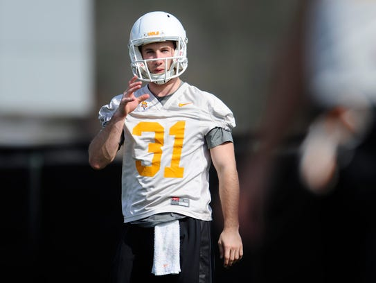 Parker Herny, from Hendersonville, was Tennessee's starting holder in 2016-17. He will attend Vanderbilt for graduate school.