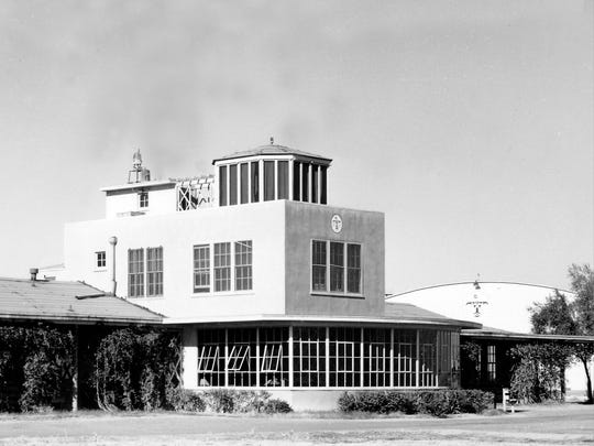 CONTROL TOWER THEN | The historic air control tower,
