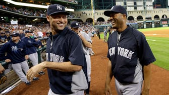 Yankees' Derek Jeter, left, and Mariano Rivera in 2013. Rivera, who'll be on the 2019 Hall of Fame ballot, and Jeter, who'll be eligible in 2020, both deserve to run the table.