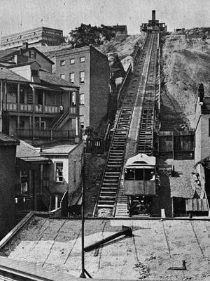 The Main Street Incline (a.k.a. the Mount Auburn Incline) was the first of the city's inclines.