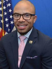 Adam Taliaferro, Democratic Assemblyman running in