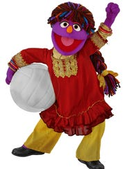 Meet Zari, Sesame Street's new Afghan Muppet, a 6-year-old