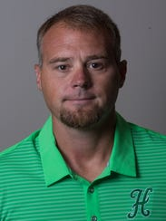 Holtville coach Jason Franklin during the Montgomery
