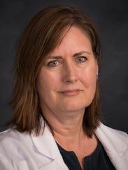 Dr. Helen Sandven of Asheville Radiology and the medical