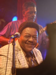 Fats Domino performed before a sold-out crowd of hundreds at Timitina's nightclub in a New Orleans Saturday, May 19, 2007. It marked the Rock and Roll Hall of Famer's first public performance since Hurricane Katrina.