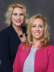 Jeralyn L. Lawrence (left) and Rita M. Aquilio will