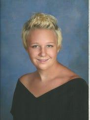Reality Winner's high school senior portrait