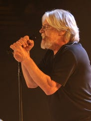 Bob Seger, performing in Saginaw on Nov. 19, 2014.