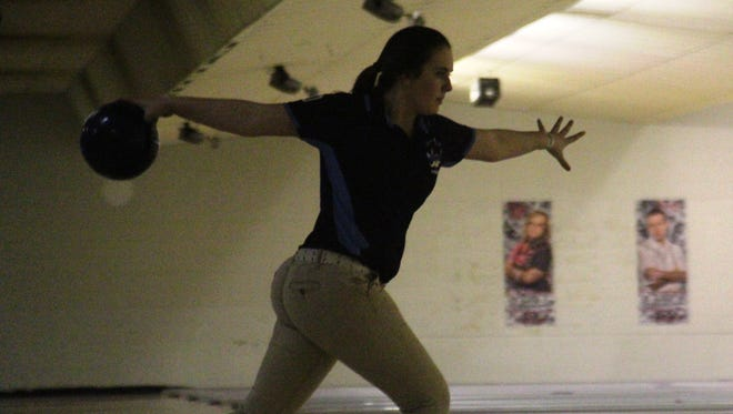 Kara Strong was a member of a Boone County squad that won another regional bowling title.