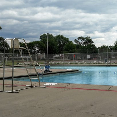 The Shelden Pool will remain closed until city crews